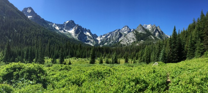Weekend Recap: Backpacking in the Enchantments
