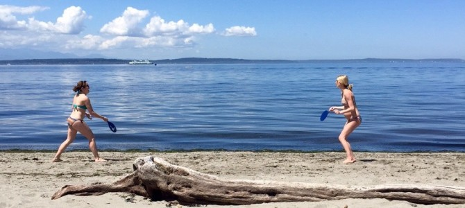 Weekend Recap: Alki Beach