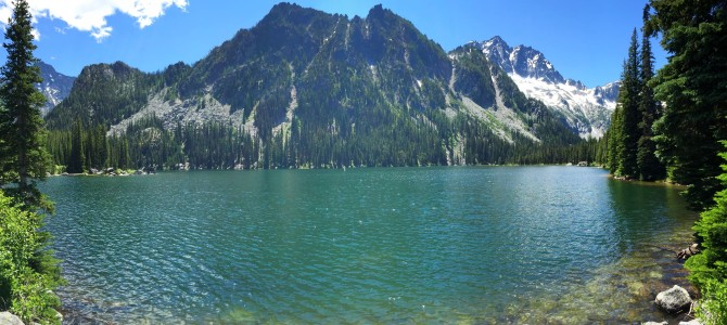 Hiking: Enchantments // Stuart Lake