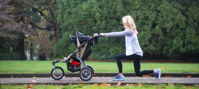 Stroller Barre Booty and Leg Workout